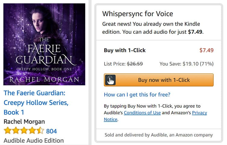 How to get Discount Audiobooks on Amazon | Rachel Morgan
