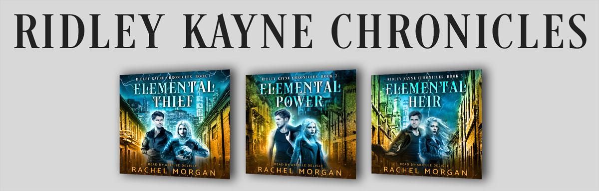 Ridley Kayne Chronicles Audiobooks